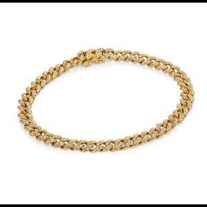 Jewelry - Shay 18k rose gold diamond bracelet.